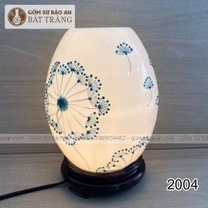Đèn Xông Tinh Dầu Cao Cấp Trứng Bát Tràng Bé - 2004