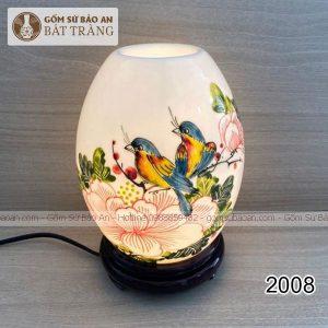 Đèn Xông Tinh Dầu Cắm Điện Bát Tràng - 2008