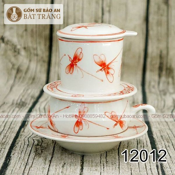 Phin Cafe Sứ Bát Tràng Chuồn - 12012