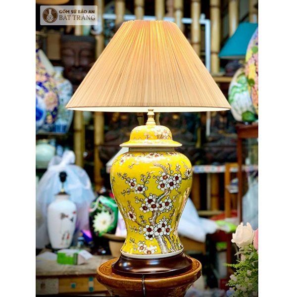 Đèn Ngủ Sứ Chóe Bát Tràng - 4063