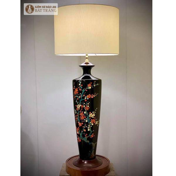 Đèn Ngủ Sứ Bát Tràng Hoa - 4081